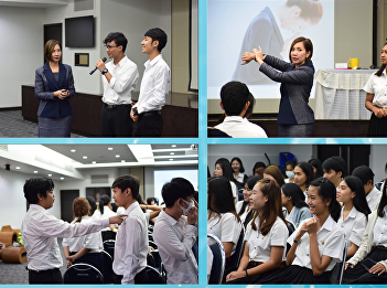 """ILPC teams with Student Development Division for """"Personality Development"""" Training for 3rd Year Students"""
